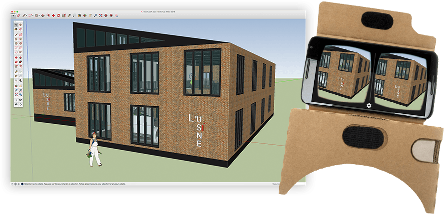 VR in SketchUp with Kubity