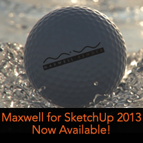 maxwell for sketchup 2013 released