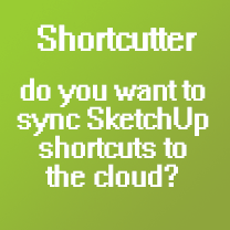 Sync SketchUp shortcuts to the cloud