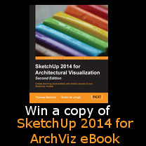 sketchup for architectural visualiztion ebook contest