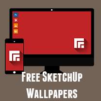 SketchUp Desktop and Mobile Wallpapers