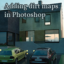 adding dirt maps in photoshop
