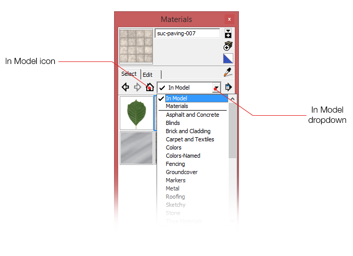 Locating textures in your SketchUp file