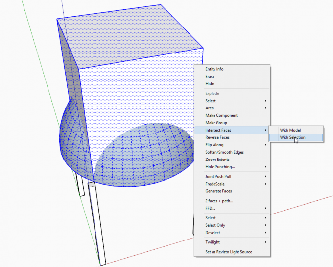 Building a dome in SketchUp step 15