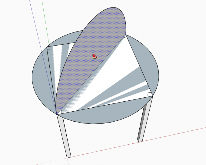 Building a dome in SketchUp step 04