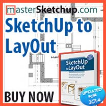 SketchUp to LayOut for SketchUp 2014