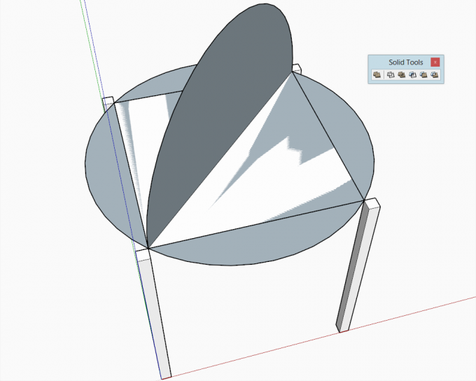 Building a dome in SketchUp step 13
