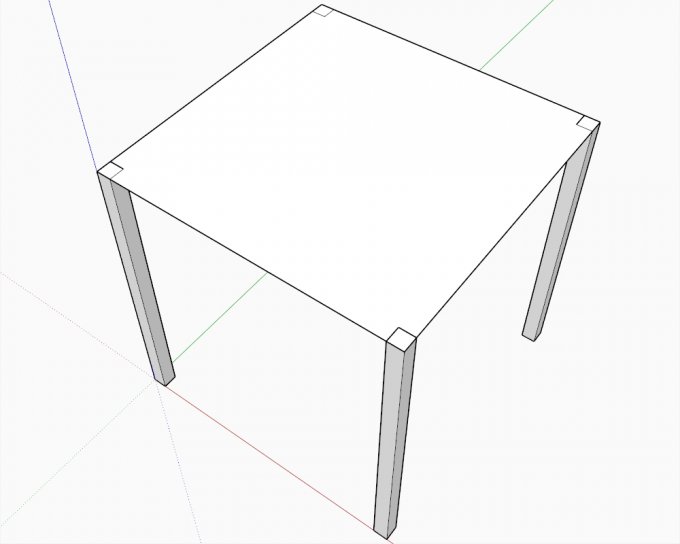 Building a dome in SketchUp step 01