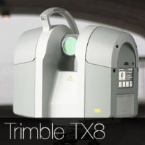 trimble tx8 3d scanner