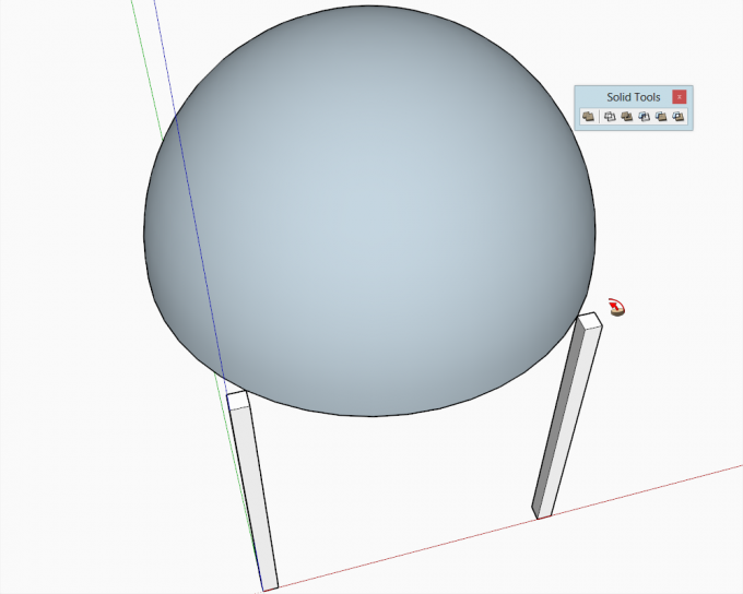 Building a dome in SketchUp step 14