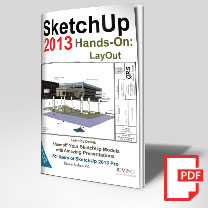 sketchup layout training book