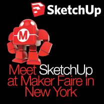 SketchUp at Maker Faire in NYC