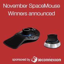 november 3d connexion raffle winners