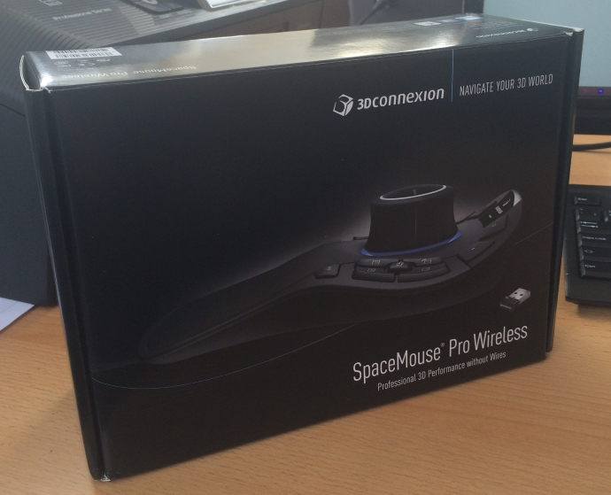 unboxing spacemouse pro wireless
