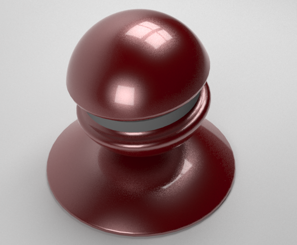 metallic paint result in v-ray for sketchup