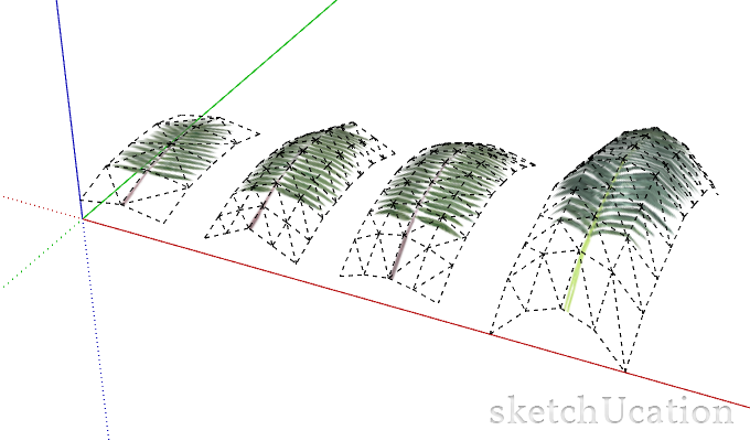 using divisions to add details in sketchup