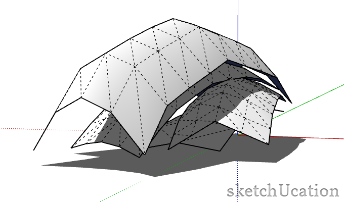 adding subtle rotations in sketchup