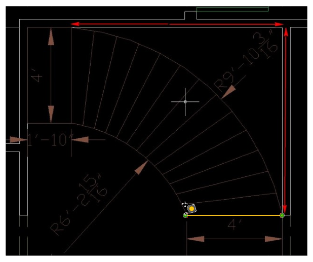 Dimensioning image